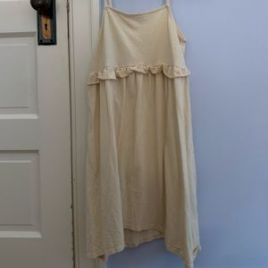 ASOS size US 2 beige sundress lightly worn
